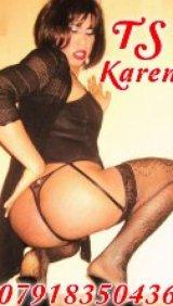 TS Karen Brazilian - escort in Aberdeen